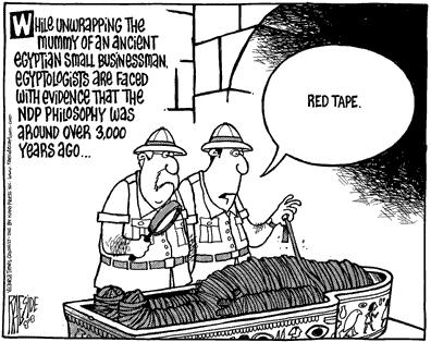 bureaucracy and business acumen